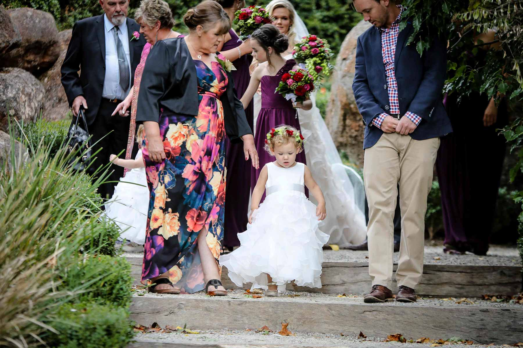 Flower Girl - Wedding Photography Daylesford