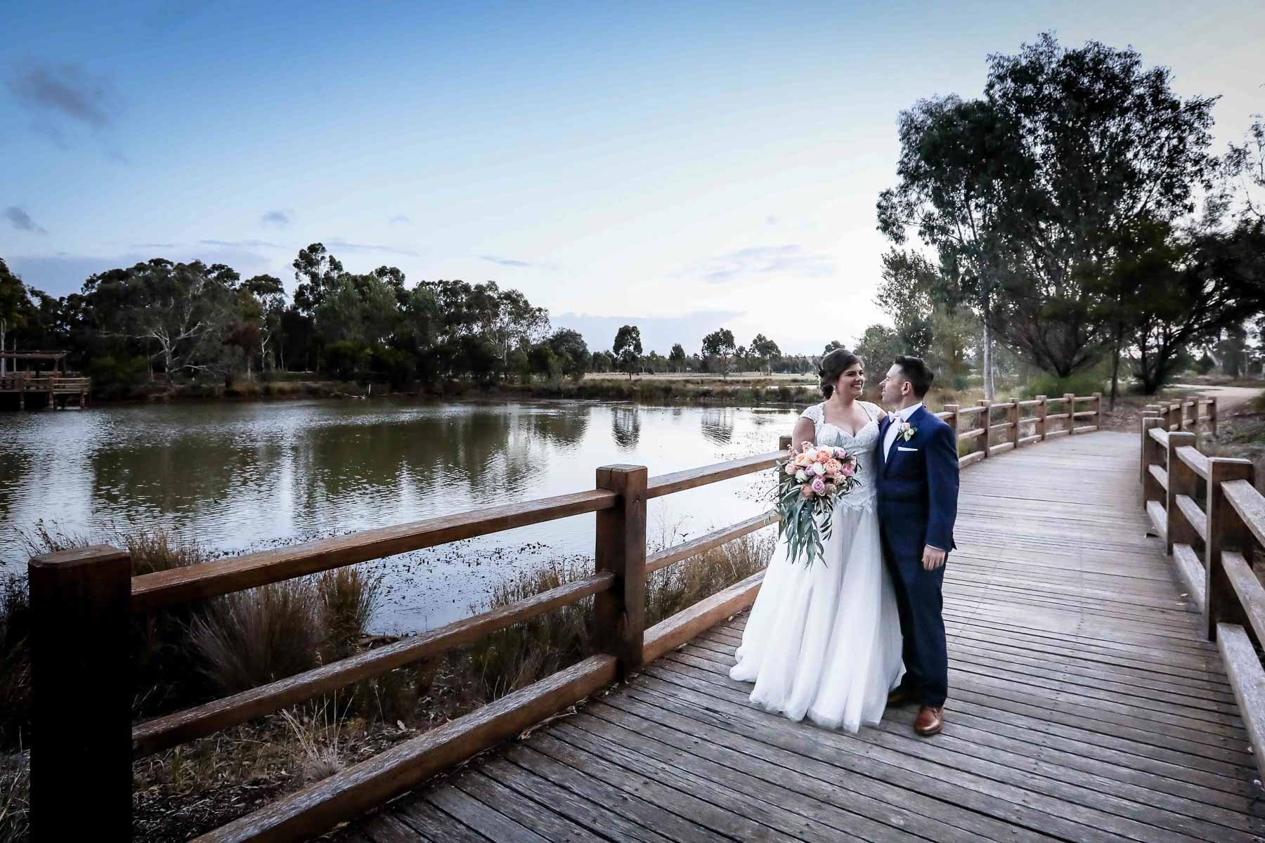 Bride & Groom Wedding Portraits - Karen Brothers Photography Daylesford