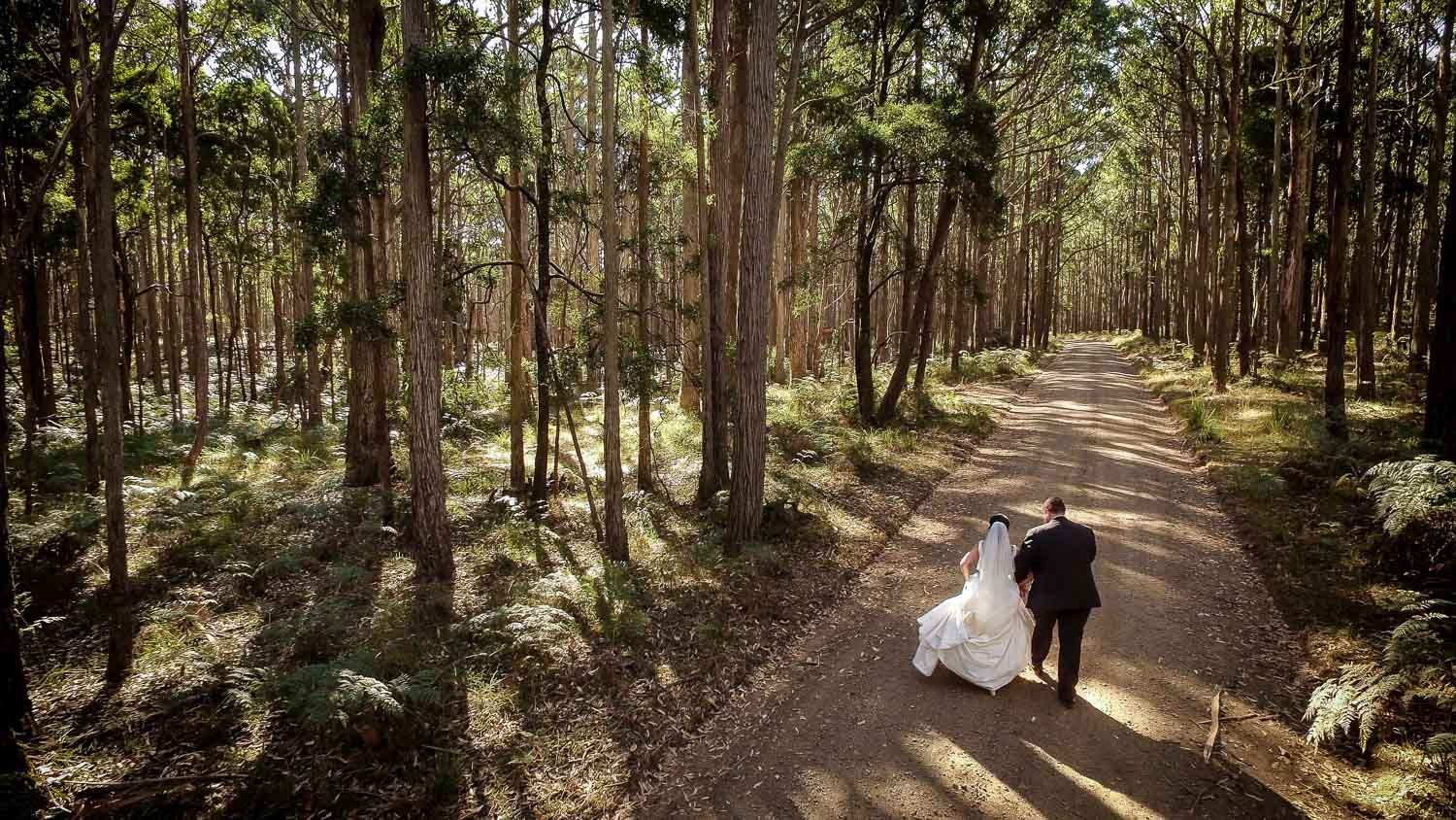 Bride & Groom Portraits - Karen Brothers Photography Daylesford
